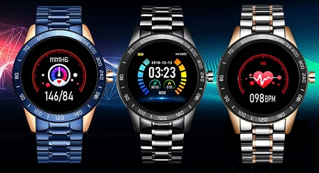 MONTRE MIXTE INTELLIGENTE ÉTANCHE À ECRAN LED